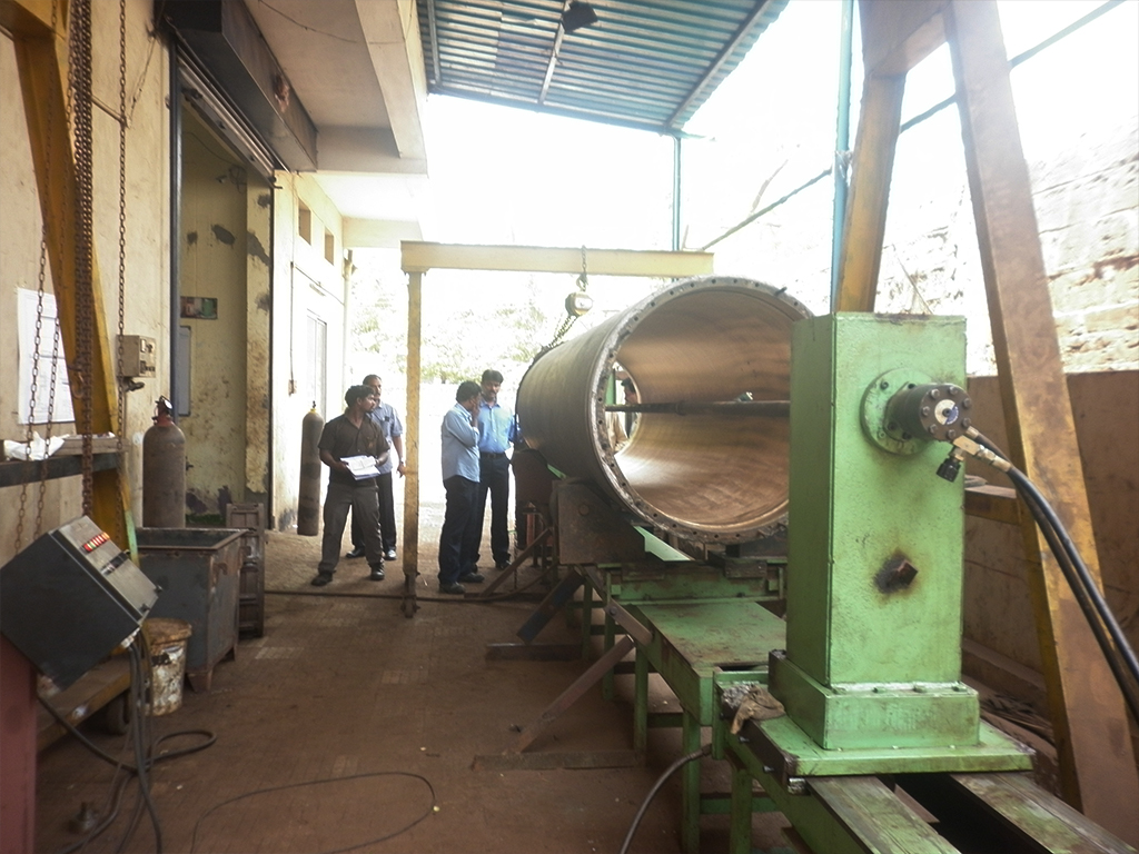 Brass Pipe Honing executed for International Paper APPM Ltd, Rajamundry