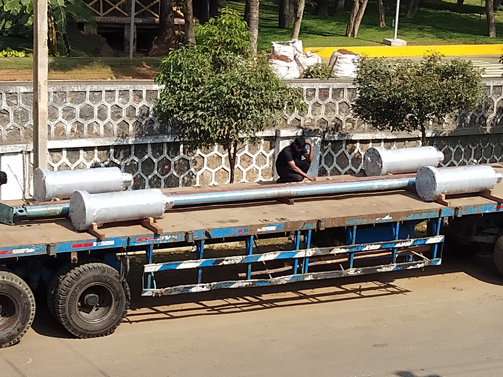Reconditioned for Essar Steels, Paradeep