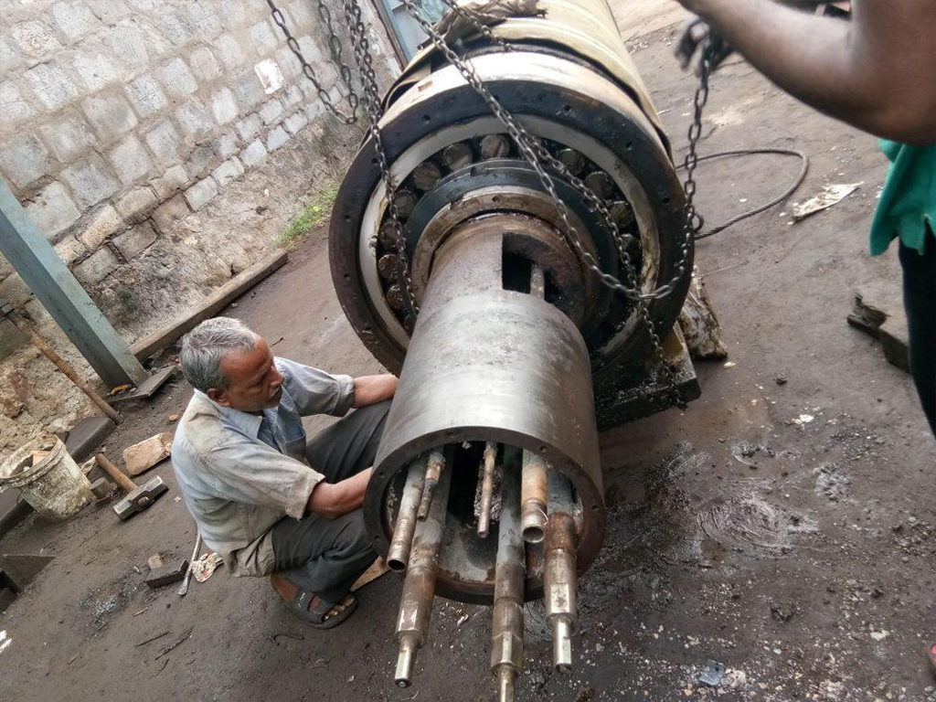Reconditioned for Sri Venkatasasi Stone Crushers,Visakhapatnam